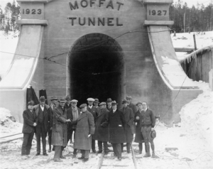 moffat tunnel completion